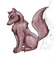 Wolf pup by Animal-and-anime-lvr