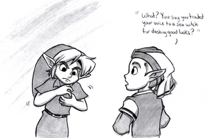 The real reason Link can't talk by BlueLink