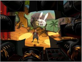 Max in The Curse of Monkey Island by CZProductions