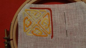 Celtic Knot - WIP II by Narmita08