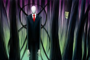 Slenderman. by Nemerida