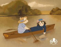 Mice Rowing by see03