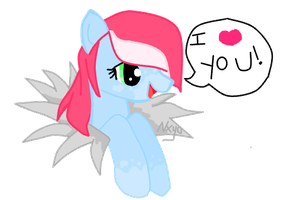 Pink Cloud's special message by StrawberrySplatters