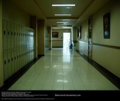 School Hallway Stock 1 by Tefee-Stock