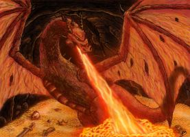 Smaug by Zephiranos