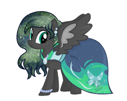 Emerald Butterfly by MissTulcadhiel