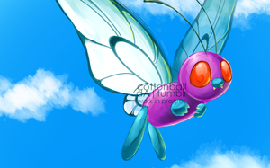 butterfree_wip012312 by cottonball