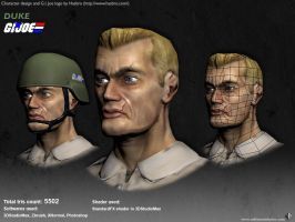 Duke - G.I. Joe 03 by artenauta