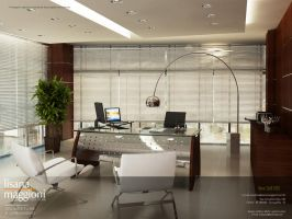 Modern Office by marlithus