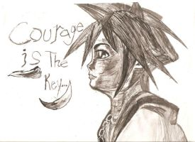 Courage is the Key by Gosalyn2007