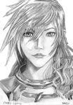 Lightning FF XIII-2 by matt123chez
