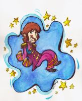 Sgt.Pepper's  Flying Ringo by KabouterPollewop