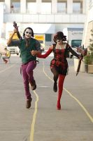 Joker and Harley by doctormario7