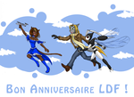 Happy Birthday LDF by Fruit-Sauvage