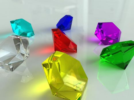 The Seven Chaos Emeralds by Ro-Bo