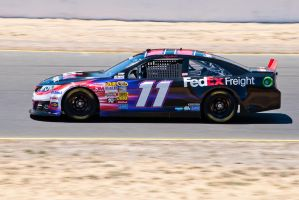 Denny Hamlin #11 FedEx Freight Toyota Camry by SharkHarrington