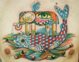 Quilty the fish by Phedre1985