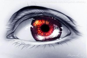 The eye  of friend by ryky