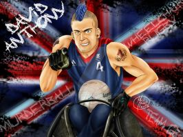 David Anthony: Team GB Wheelchair Rugby Champ! by HavocGirl