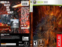 Custom Godzilla game boxart by LostPlumber-Tman1593