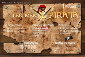 Territorio Pirata flyer by f0ul