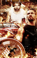 WWE FAST LANE Poster by JoKeRWord