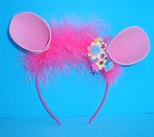 OOAK Pinky Pie Party Time Ears by jezzy