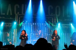 Lacuna Coil in Manchester by crystalfalls
