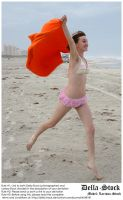 Sissa at the Beach.2 by Della-Stock