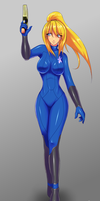 Zero Suit Samus by Claymore32