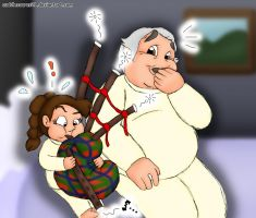 OTFC #28 Bagpipe Lessons by cuddlesaurus21