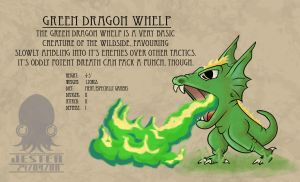 KCB - Green Dragon Whelp by deathjester