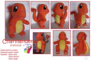 Charmander Premium plush by chocoloverx3
