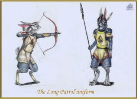 The Long Patrol armour by DekabristMouse