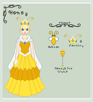 Ref SMB - Princess Honey by StargazerSammie