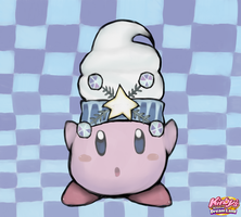 snow bowl kirby by lIgHtInG-FaNg