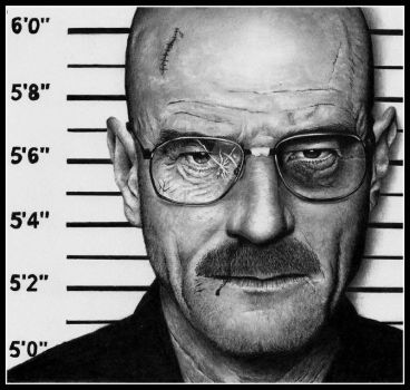 Breaking Bad - Bryan Cranston by Doctor-Pencil