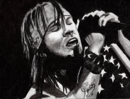 Axl Rose quick sketch by argentinian-queen