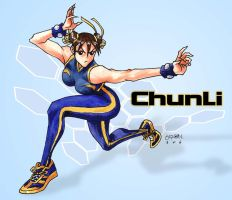 SF ChunLi by s2ka