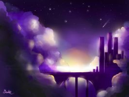 City of the Clouds by DanteRM