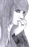 Scene Girl Drawing 5 by Conor332211