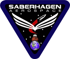 Saberhagen Aerospace Flight Insignia by viperaviator