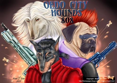 The Dogs of Oedo by ValkyrieNZ