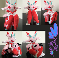 Lurantis Pokemon Plush! 9'' by GuardianEarthPlush
