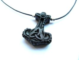 Thor's Hammer Pendant by MassoGeppetto