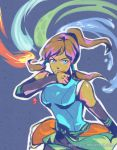 Korra _ ready for a fight by kelly1412