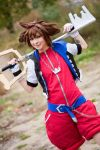 Kingdom Hearts - A Hero by Firiless