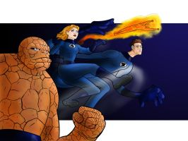 Fantastic 4  by zclark