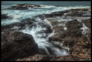 Sea and stone 4 by shadowfoxcreative