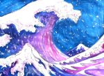 Pastel Hokusai by SacredCows